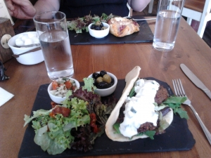 Lunch in Saffron Walden